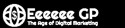 Logo for Eeeeee GP - The Age of Digital Marketing